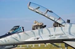Slowaak mig-29 op Radom Airshow, Polen Royalty-vrije Stock Fotografie