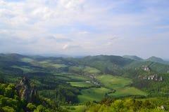 Slowaaks landschap Stock Afbeelding