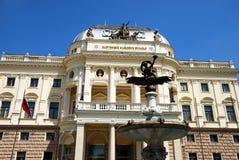 Slowaaks Nationaal Theater Stock Afbeeldingen