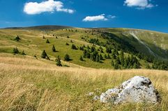 Slowaakse bergen Stock Foto's