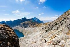 Slowaakse pleso Tatra van Vysne Wahlenbergovo Stock Foto