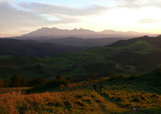 Slowaakse Tatras stock foto