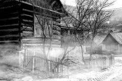 Slowaakse willage stock foto