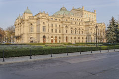 Slowacki Theater Royalty Free Stock Photo