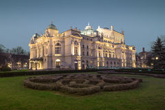 Slowacki Theater in Krakow Stock Photography