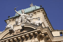 Slowacki theatre in Cracow Royalty Free Stock Images