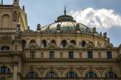 Slowacki Theatre. In Krakow (Poland Royalty Free Stock Image
