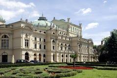 Slowacki Theatre of Krakow in Poland Royalty Free Stock Photography
