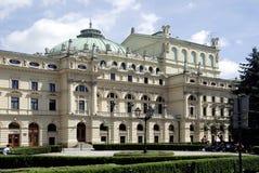 Slowacki Theatre of Krakow in Poland Royalty Free Stock Images