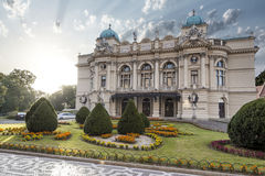 Slowackis teater Royaltyfria Foton