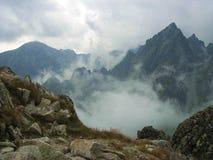 Slowakei-Berg Stockfoto