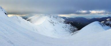 Slowakei-Berg am Winter, niedriges Tatras Lizenzfreie Stockfotos