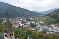 slowakei Orava-Schloss Stockbild