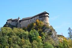 slowakei Orava-Schloss lizenzfreies stockfoto