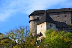 slowakei Orava-Schloss lizenzfreies stockbild