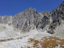 Slowakije, Tatra-bergen - Gerlach-oogst Tatry - szczyt Gerlacha royalty-vrije stock afbeelding