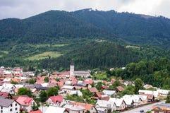 Slowakije - Terchova - mening Stock Fotografie
