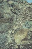 Slowakische Karpatenberge im Herbst Felsenbeschaffenheiten auf Wänden Lizenzfreies Stockfoto