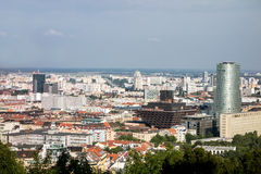 Slowakische Station des nationalen Radios in Bratislava Lizenzfreie Stockfotografie