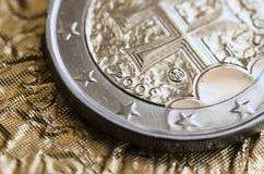 Slowakischer EURO Stockbild