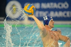 Slowakischer waterpolo Spieler Tomas Bruder Stockfoto