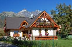 Slowakisches Haus stockfotografie