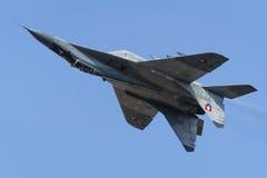 Slowakisches MiG-29 Stockbild