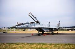 Slowakisches MiG-29 auf Radom Airshow, Polen Stockfoto