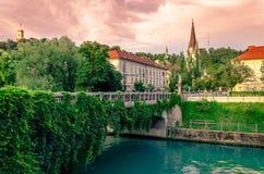 Slowenien Ljubljana Stockfotos