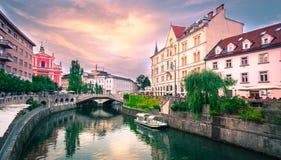 Slowenien Ljubljana Lizenzfreie Stockfotografie