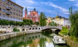 Slowenien Ljubljana Stockbild