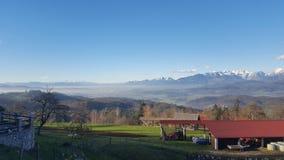 Slowenien von der besten Ansicht lizenzfreie stockbilder