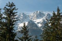 Slowenisch Alpen Lizenzfreie Stockfotos