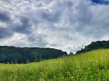 Slowenisch Landschaft Lizenzfreie Stockfotos