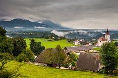 Slowenisch Landschaft stockfotos