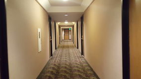 Slowmo video of a hotel hall stock footage