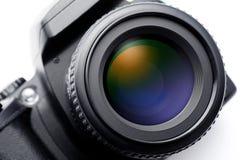 SLR摄象机镜头 图库摄影