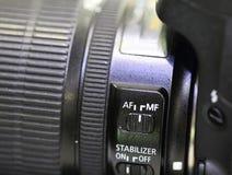 SLR照相机 免版税库存照片