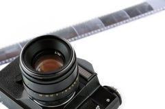 slr руководства пленки камеры классицистическое Стоковое Изображение