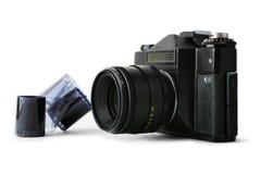 slr руководства пленки камеры классицистическое Стоковое Фото