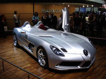 SLR Stirling Moss Geneva 2009 Royalty Free Stock Photography