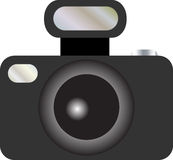 Slr camera 1 Royalty Free Stock Images