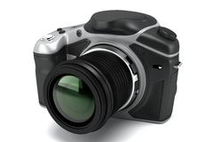 SLR Camera Royalty Free Stock Photos
