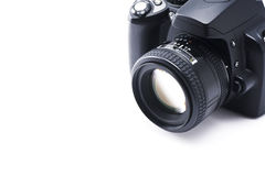 SLR camera Royalty Free Stock Photography