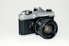 SLR Camera. Old style slr camera body Royalty Free Stock Image