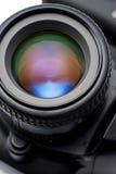 SLR camera lens Royalty Free Stock Image