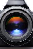 SLR camera lens Royalty Free Stock Photo