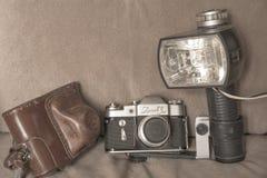 Photographic equipment of the 1960s of Soviet photographers
