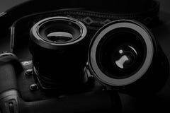 SLR cameras Stock Image