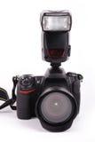 slr d'appareil-photo Photographie stock libre de droits